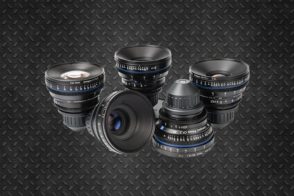Zeiss CP2 T1.5 & T2.1 full set